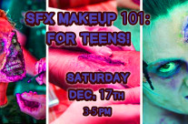 SFX Makeup 101: For Teens!