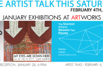 Artist Talk – February 4th, 1-4pm
