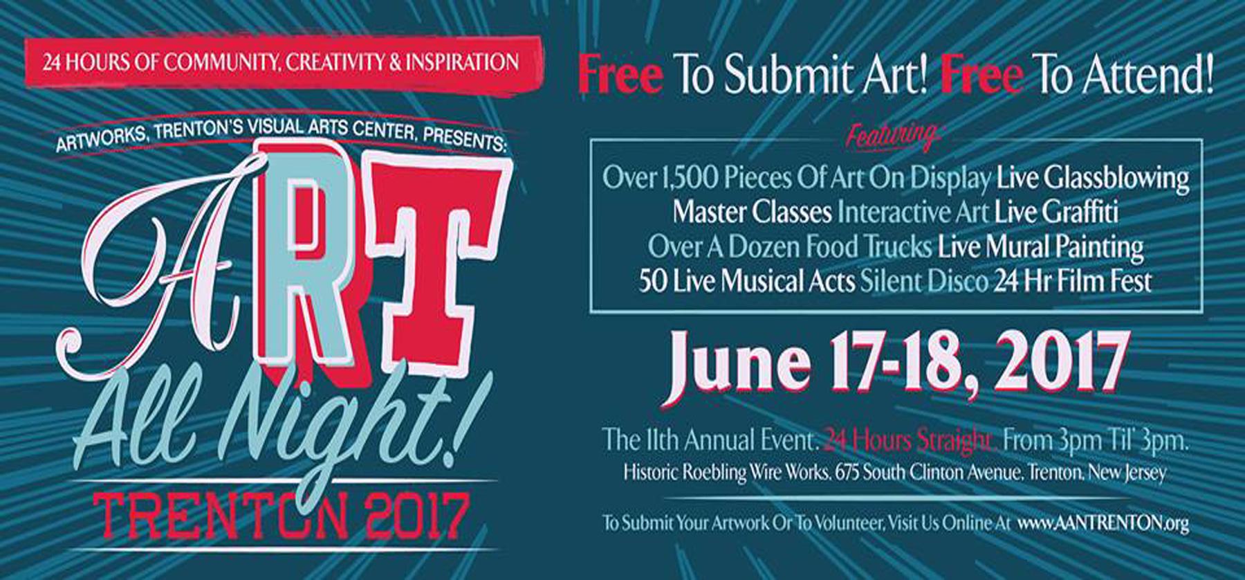ART ALL NIGHT 2017