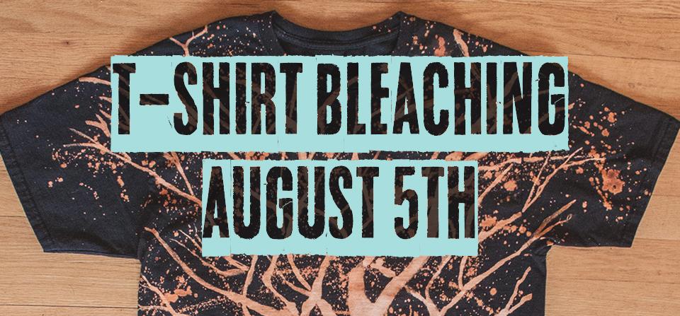 T-Shirt Bleaching