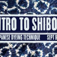 Intro to Shibori